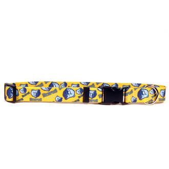 Memphis Grizzlies Dog Collar
