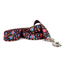Bright Owls Dog Leash