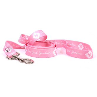 New York Yankees PINK Dog LEASH