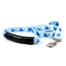 Sweet Lil Whales EZ-Grip Dog Leash