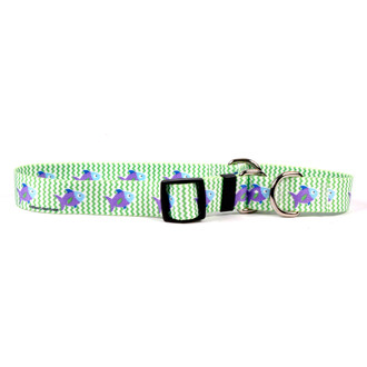Fish Tales Martingale Dog Collar