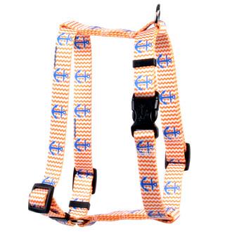 "Anchors Away Roman Style ""H"" Dog Harness"
