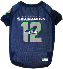seattle deahawks 12th man dog jersey