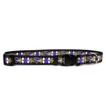 Baltimore Ravens Argyle Dog Collar