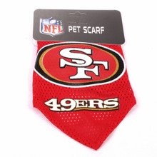 San Francisco 49ers NFL Pet Bandana