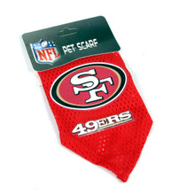 San Francisco 49ers NFL Pet Bandana