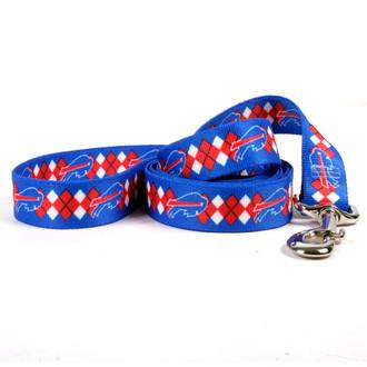Buffalo Bills Argyle Dog Leash
