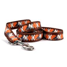 Cleveland Browns Argyle Dog Leash
