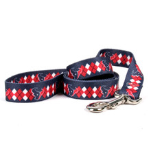 Houston Texans Argyle Dog Leash