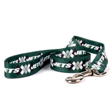 New York Jets Argyle Dog Leash