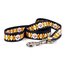 Pittsburgh Steelers Argyle Dog Leash