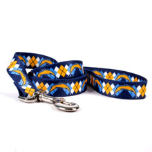 San Diego Chargers Argyle Dog Leash
