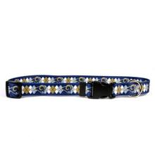 St. Louis Rams Argyle Dog Collar