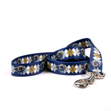 St. Louis Rams Argyle Dog Leash