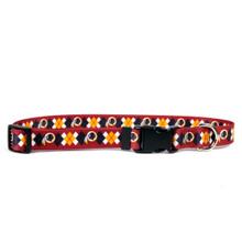 Washington Redskins Argyle Dog Collar