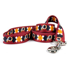 Washington Redskins Argyle Dog Leash
