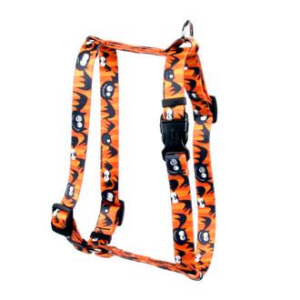 "Dog Gone Batty Roman Style ""H"" Dog Harness"