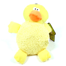 Big Belly Plush Duck Squeaker Dog Toy