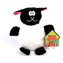 Big Belly Plush Sheep Squeaker Dog Toy