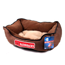 Arkansas Razorbacks NCAA Pet Bed