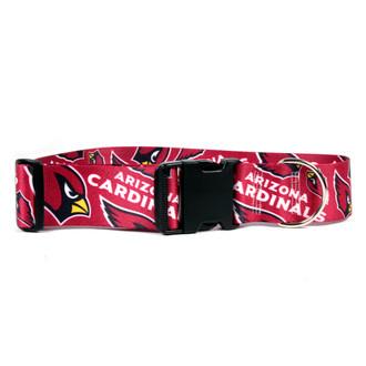 Arizona Cardinals 2 Inch Wide Dog Collar