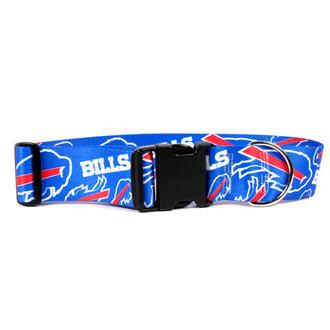 Buffalo Bills 2 Inch Wide Dog Collar