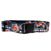 Cincinnati Bengals 2 Inch Wide Dog Collar