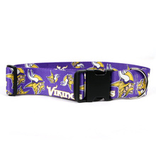 Minnesota Vikings 2 Inch Wide Dog Collar