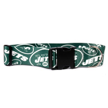 New York Jets 2 Inch Wide Dog Collar