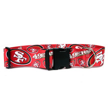 San Francisco 49ers 2 Inch Wide Dog Collar