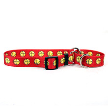 Jingle Bells Martingale Dog Collar