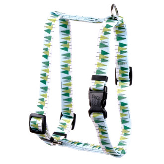 "Winter Trees Roman Style ""H"" Dog Harness"