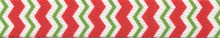 Peppermint Stick Chevron Stripes Waist Walker