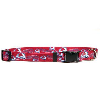 Colorado Avalanche Dog Collar