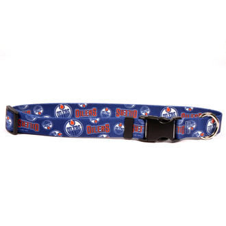 Edmonton Oilers Dog Collar
