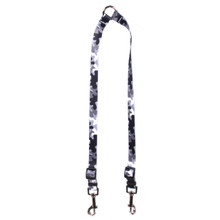 Black and White Camo Coupler Dog Leash