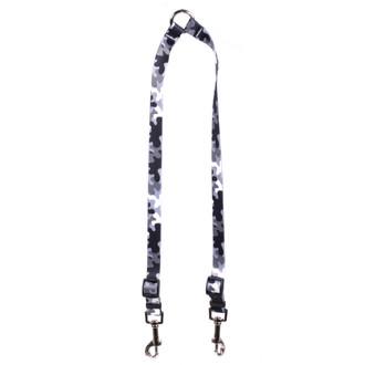 Black and White Camo Coupler Dog Leash