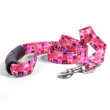 Valentines Blocks EZ-Grip Dog Leash