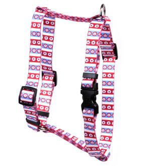 "American Daisy Roman Style ""H"" Dog Harness"