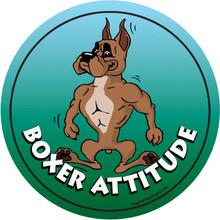 Boxer Attitude Magnet