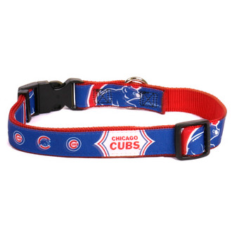 Chicago Cubs Premium Pet Collar