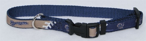 Milwaukee Brewers Premium Pet Collar