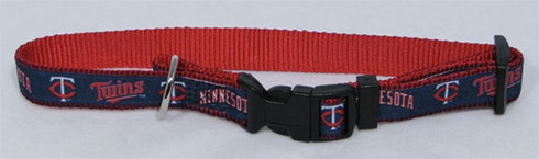 Minnesota Twins Premium Pet Collar