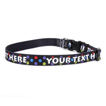 Personalized Gumballs Dog Collar
