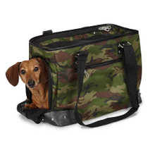 Canvas Camo Pet Carrier - Small Size **Clearance**