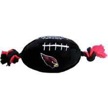 Arizona Cardinals NFL Squeaker Football Toy