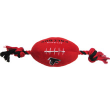 Atlanta Falcons NFL Squeaker Football Toy