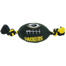 Green Bay Packers NFL Squeaker Football Toy