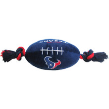 Houston Texans NFL Squeaker Football Toy