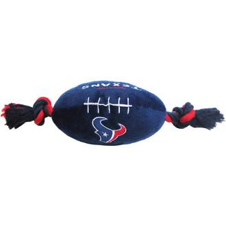 Houston Texans NFL Squeaker Football Toy